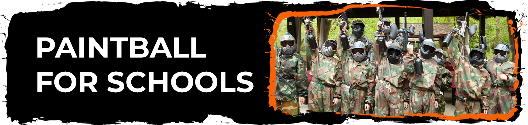 Mobile Paintball For Schools
